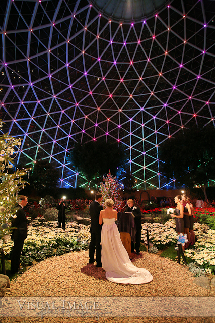 Wedding At Mitchell Park Domes Matt S Brother Started The Toasting Followed By Erika Sisters And Her Dad