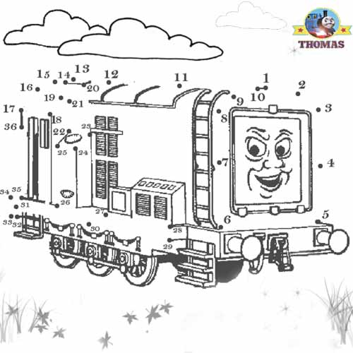 diesel 10 coloring page - diesel 10 coloring sheets coloring pages