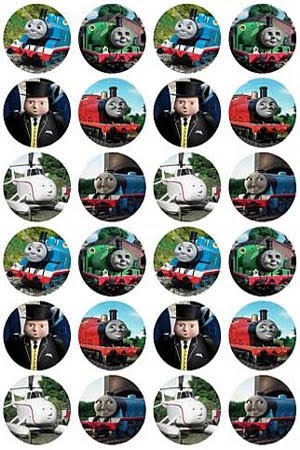 Kids Birthday Party Thomas Cake Toppers Train Thomas