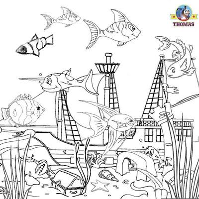 life aquarium tropical book for children