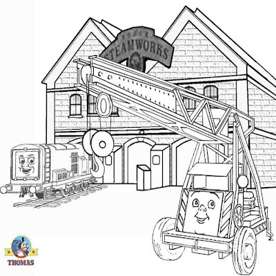DIESEL 10 COLORING PAGES « Free Coloring Pages