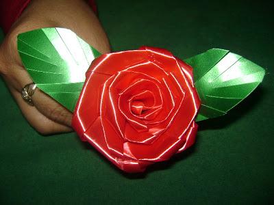 Rosas para Decorar en Navidad, paso a paso