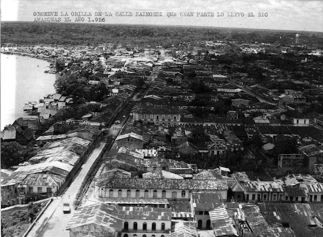 Aerial view of Raimondi St. 1926