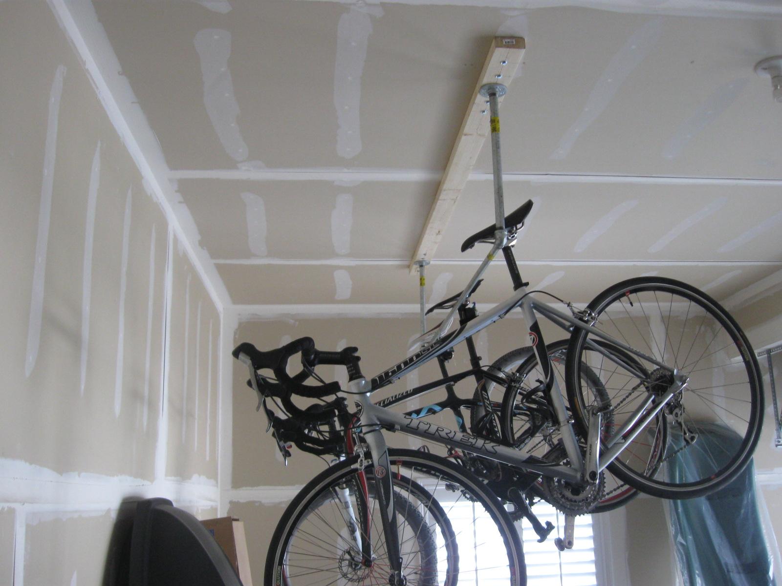 Garage Ceiling Bike Rack