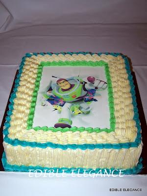 Edible Elegance Buzz Lightyear Birthday Cake