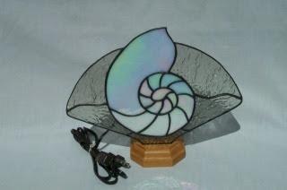 snail fan lamp