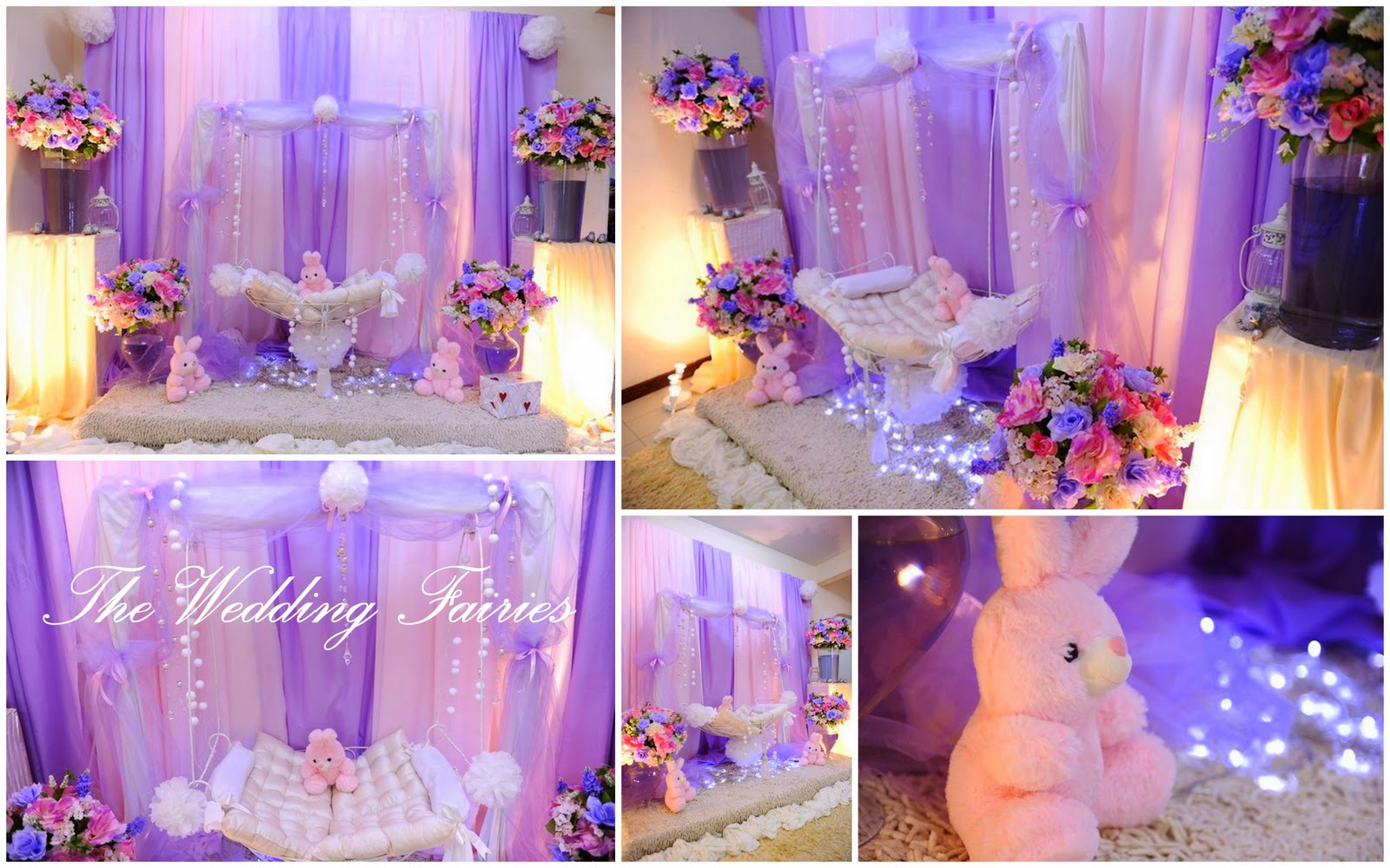 Wedding ceremony decorations living room interior designs for Baby name ceremony decoration
