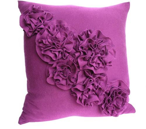 Diy Craft List Ruffled Rosette Pillow