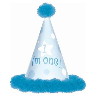 Baby Boy 1st Birthday Hat