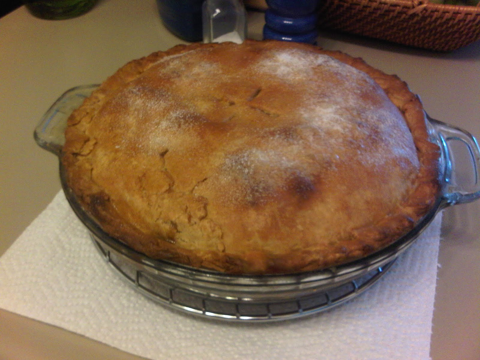 A Little Schmaltz Parve Apple Pie!
