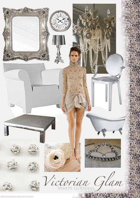 Beautiful Anything Thursday Mood Board Victorian Glam