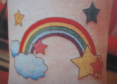 Small Rainbow Tattoo Designs