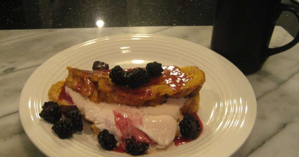 Food Network French Toast Blackberry