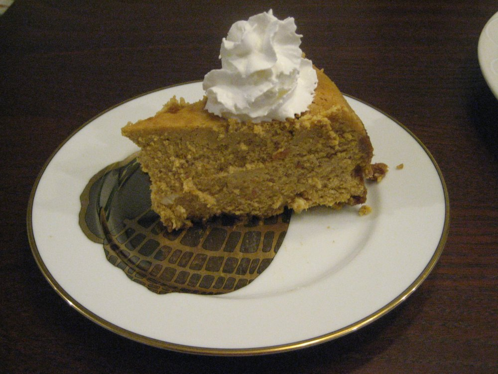 Pumpkin Cheesecake America S Test Kitchen