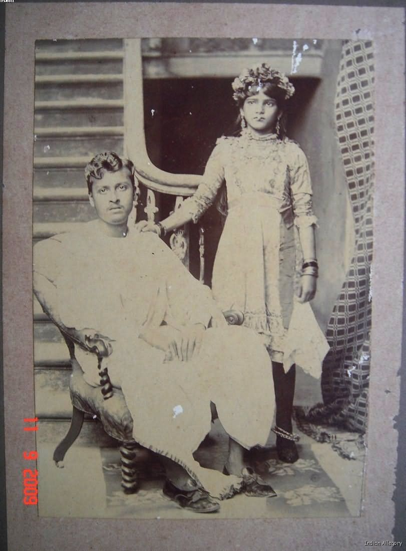 Bengali Family Photo - Date Unknown