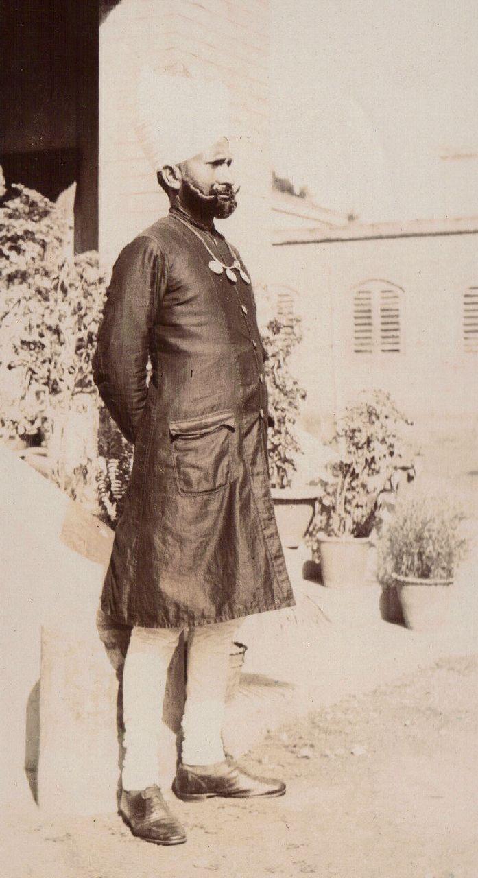 Sikh Gentleman, Calcutta c.1903