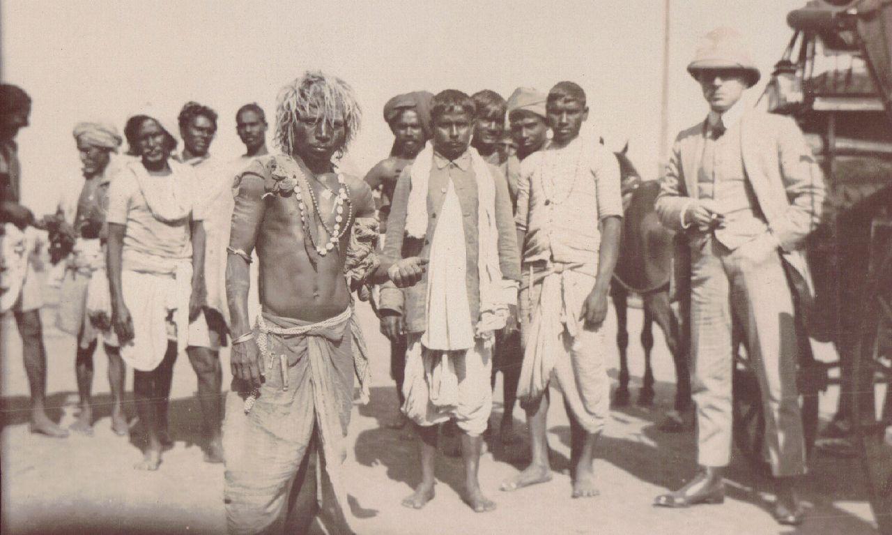 Villagers, Calcutta c.1903