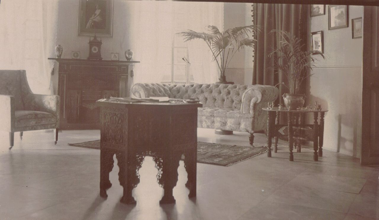 Interior of Pandy's House (probably), Calcutta c.1903