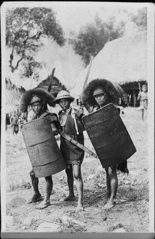 Young Naga Tribespeople