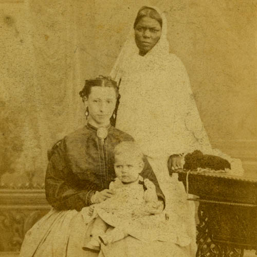 Lady with child and Ayah - 1860s