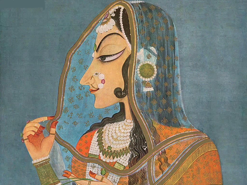 Bani Thani India's Mona Lisa - 18th Century