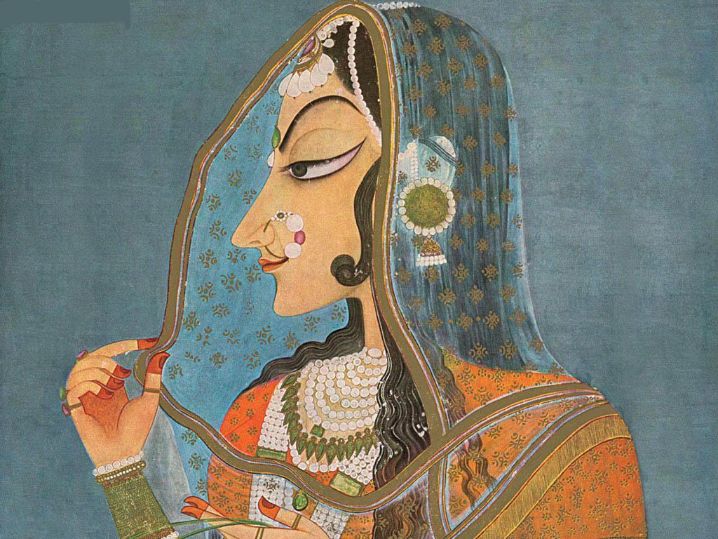 Bani Thani India's Mona Lisa - 18th Century