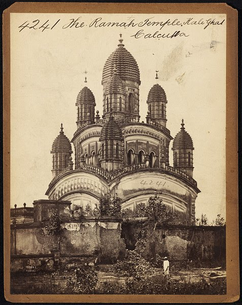 Dakshineswar kali temple Calcutta ( Kolkata ) - Mid 19th Century