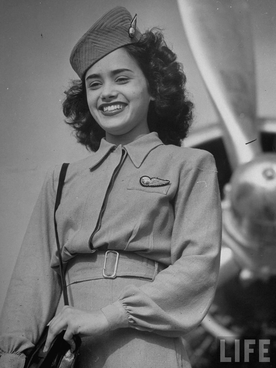 Air India flight attendant June Argent.