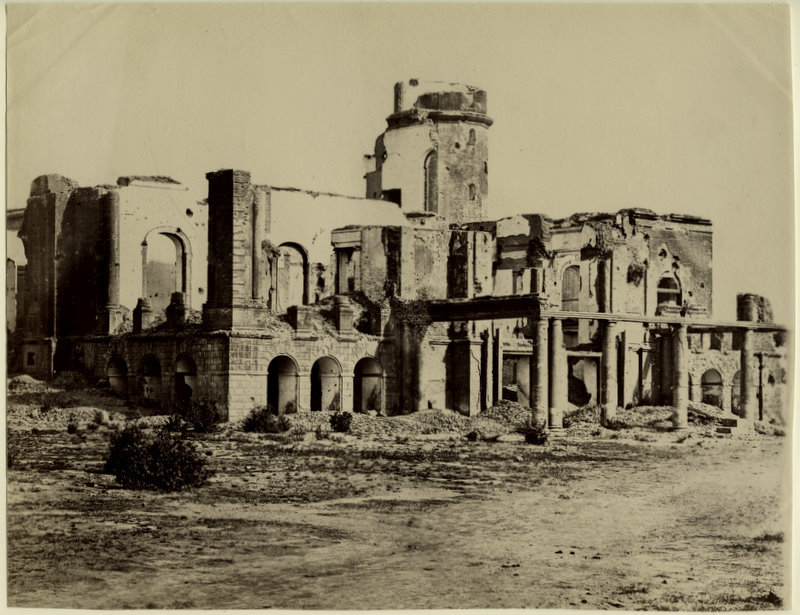 Ruins of Residency Lucknow  1880s  Old Indian Photos