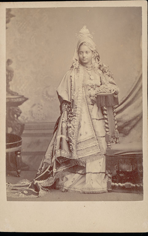 Portrait of Hindu Princess in Costume