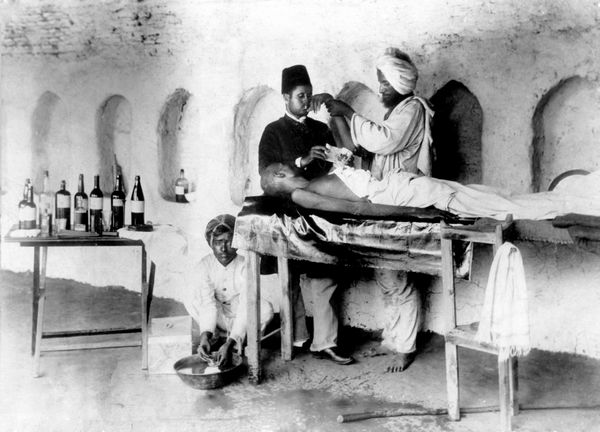 Relief work during the great famine in South India (1876-78)