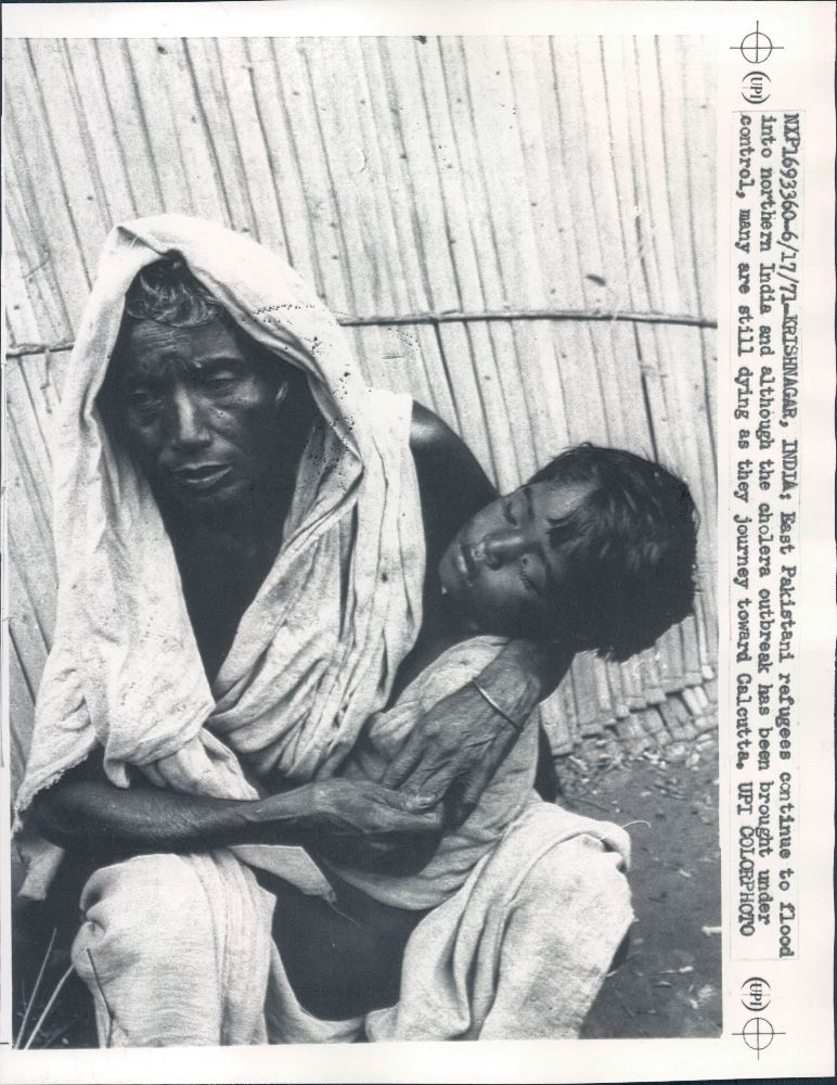 East Pakistani Refugees (Woman and Child) in India - Krishnanagar 1971