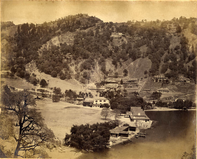 Nainital before landslide