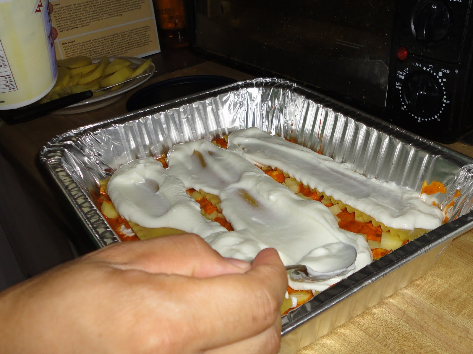 The Late Night Chefs Curry Lasagna