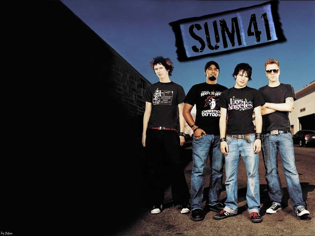 Pumpkins Fall Wallpaper Rock Band Wallpapers Canadian Melodic Punk Rocks Sum 41
