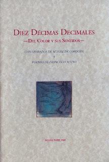 Diez décimas decimales,Francisco Acuyo, Mª José de Córdoba, 1ª edición