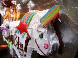 Panda Le Chef The Unicorn Cake