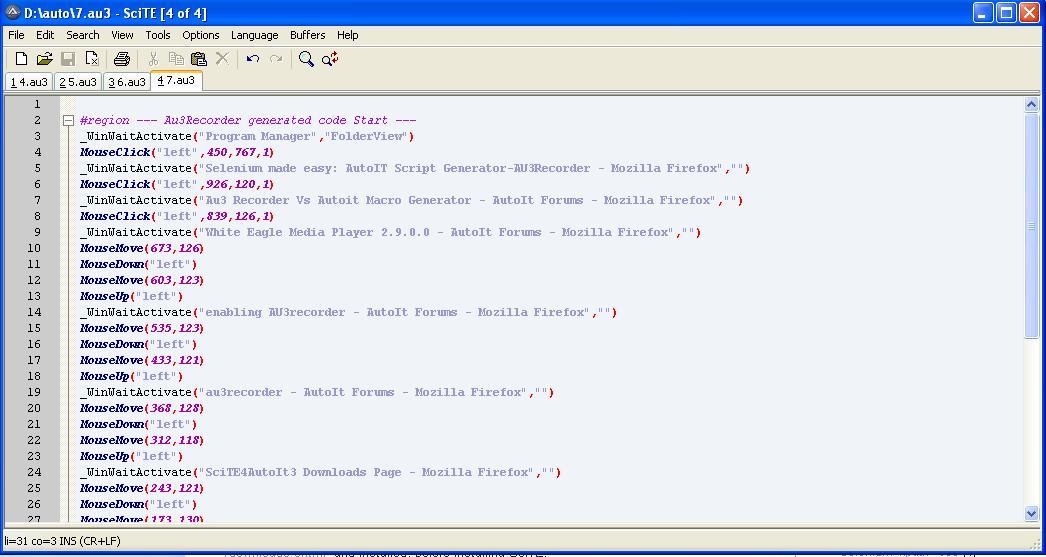Selenium made easy: AutoIT Script Generator-AU3Recorder