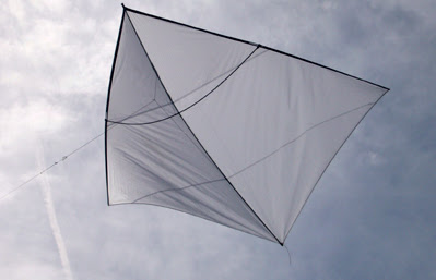 synergetic zerowind kites synergetische nullwind drachen die grosse weisse schwester white angel. Black Bedroom Furniture Sets. Home Design Ideas