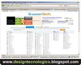 site diversos navegadores
