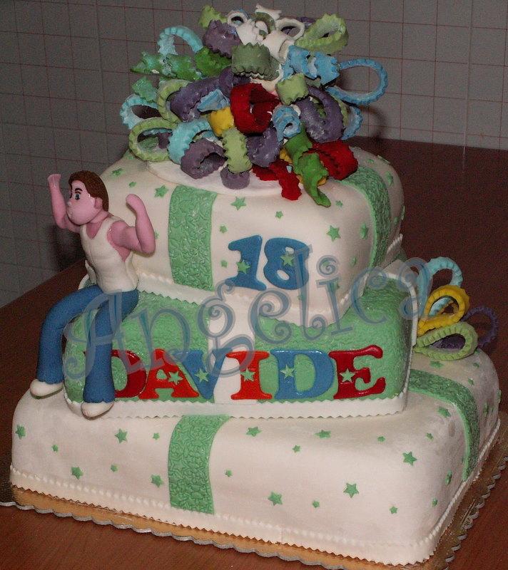 Ben noto Conserve di zucchine: Torte di compleanno 18 anni maschio VZ62