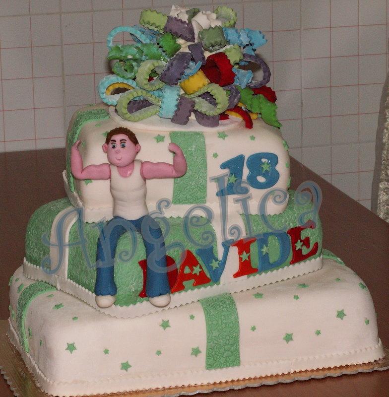 Amato Emozioni in torte- Le torte di Angelica: Che forza i 18 anni  XR29