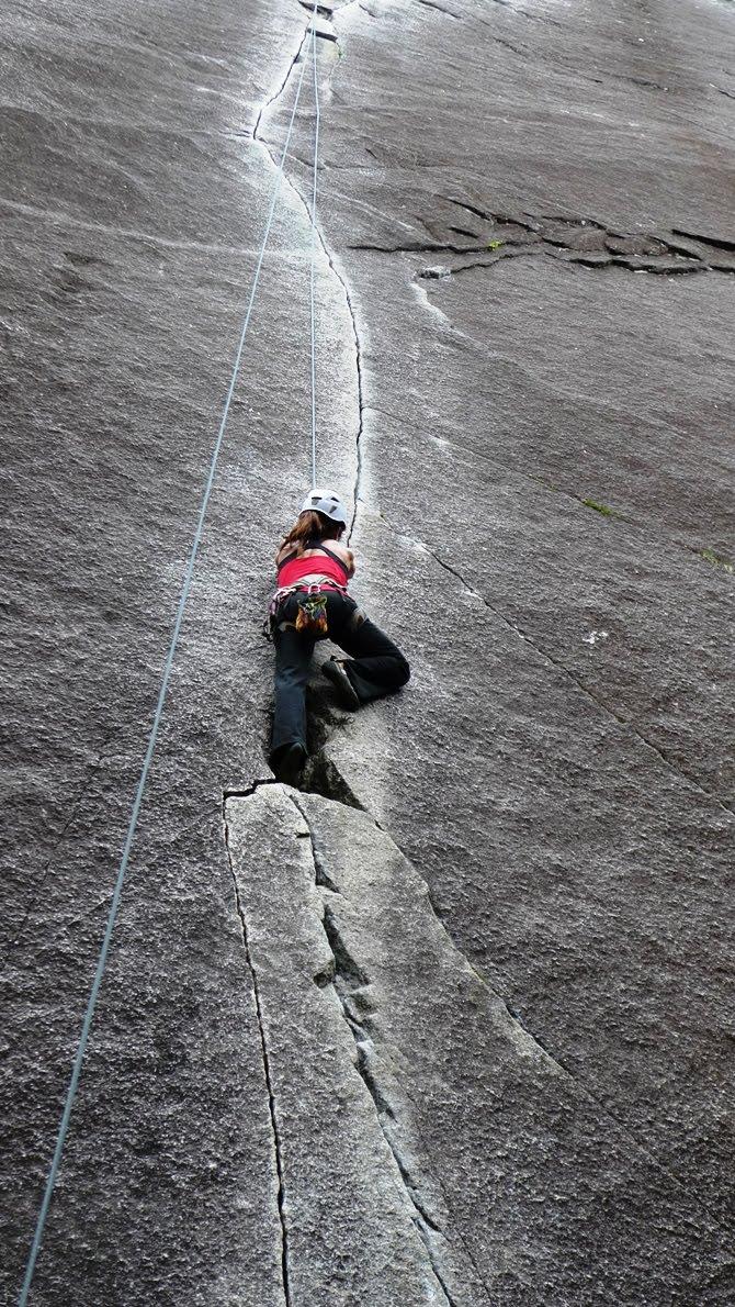 Jasmin S Adventure Journal Women S Crack Climbing Weekend
