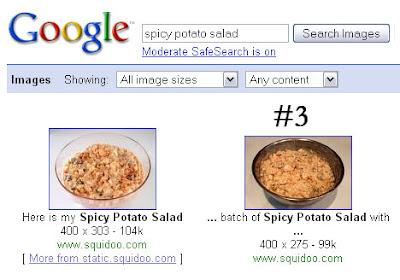 google image search spicy potato salad