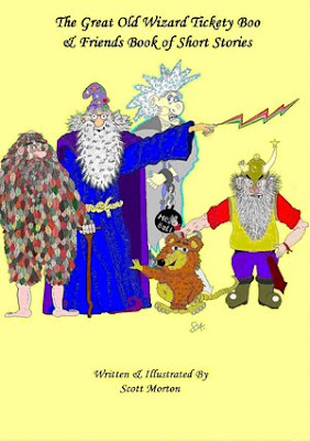 The Great Old Wizard Tickety Boo -- a book by Scott Morton