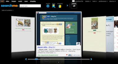 Searchme results for Jaguar Julie
