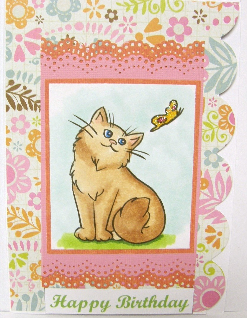 free ecards beautiful cat birthday card  e cards for
