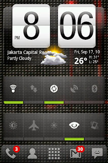 Home Screen Android Nexian
