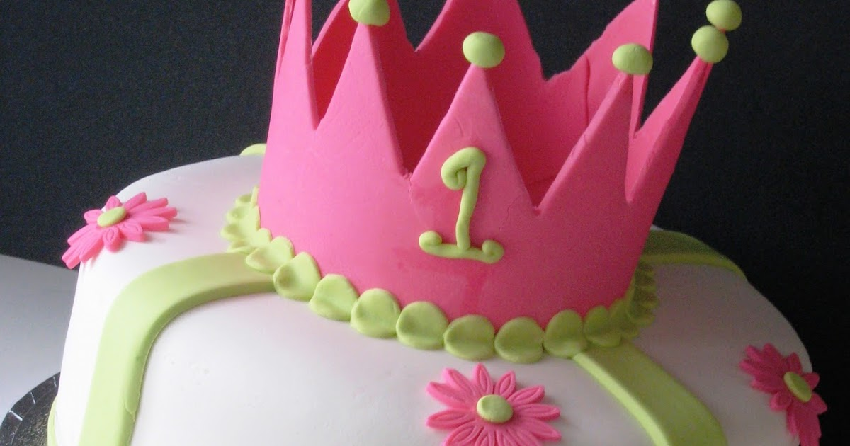 Heavenly Bites Cakes Princess 1st Birthday