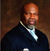 Bishop T.D. Jakes survives an explosion image. Thank God.